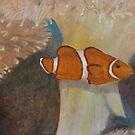 Friendly Clown Fish by naomilambert