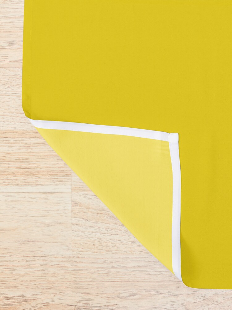 Alternate view of Sunshine x Stripes Shower Curtain