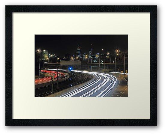 Perth City Traffic  by EOS20