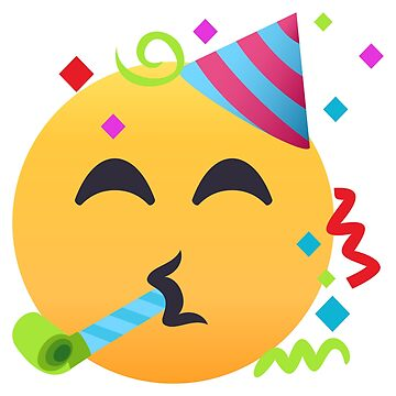 Partying Face Emoji by joypixels