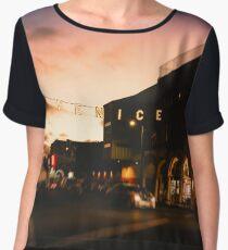 Sunset Venice Chiffon Top