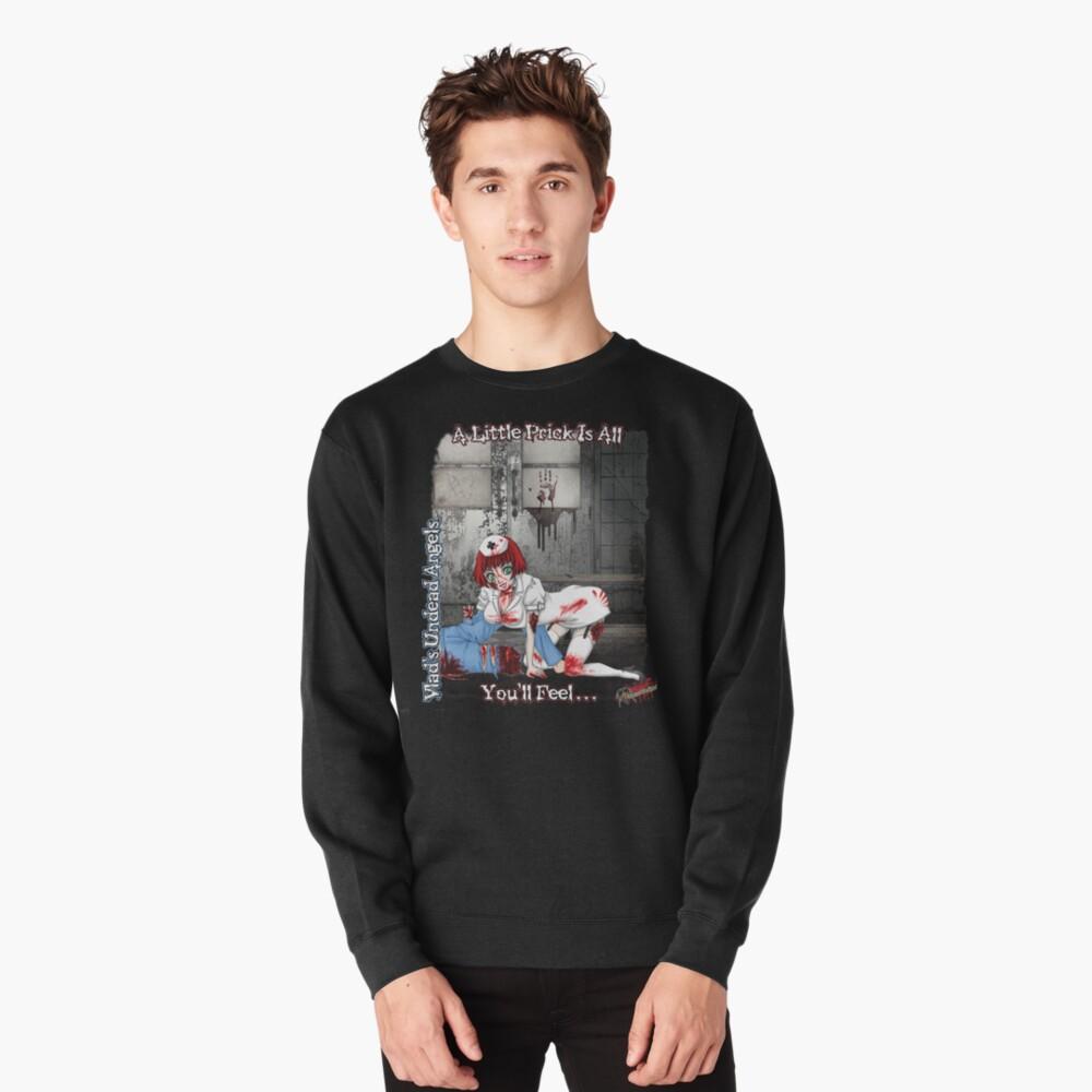 Undead Angels: Zombie Nurse Pullover Sweatshirt
