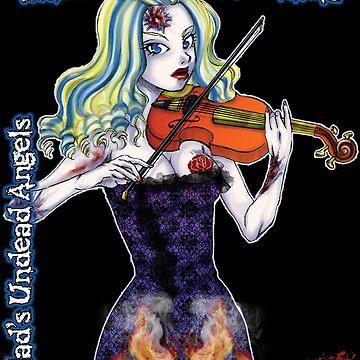 Undead Angels: Zombie Violinist by EnforcerDesigns