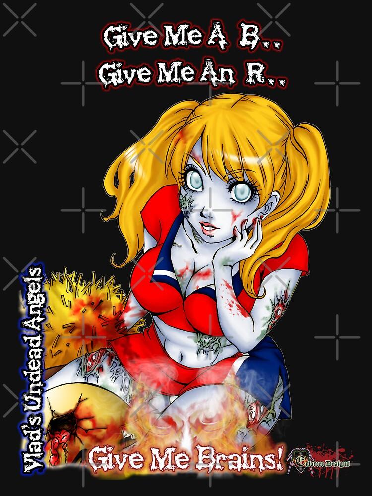 Undead Angels: Zombie Cheerleader by EnforcerDesigns
