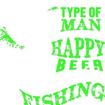 Fishing Man T-Shirt by radekk1103