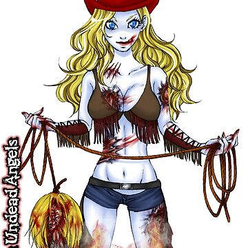 Undead Angels: Zombie Cowgirl by EnforcerDesigns