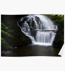 Lower Part of Bridemaids Waterfalls-Bushkill Falls Poster
