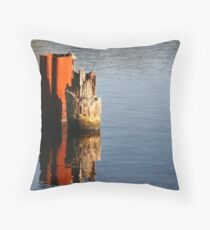 Rust Part I. Throw Pillow