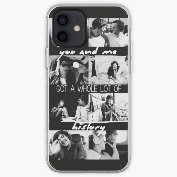 Histoire One Direction Collage Coque souple iPhone