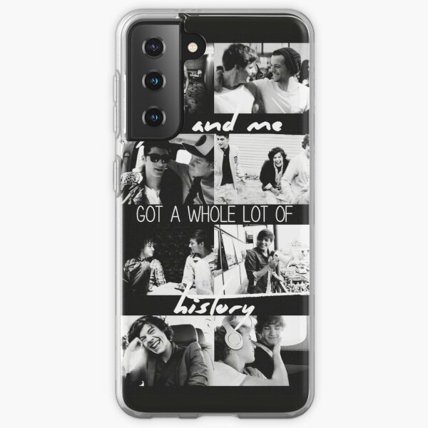 History One Direction Collage Samsung Galaxy Soft Case