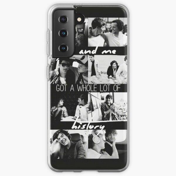 Historia One Direction Collage Funda blanda para Samsung Galaxy