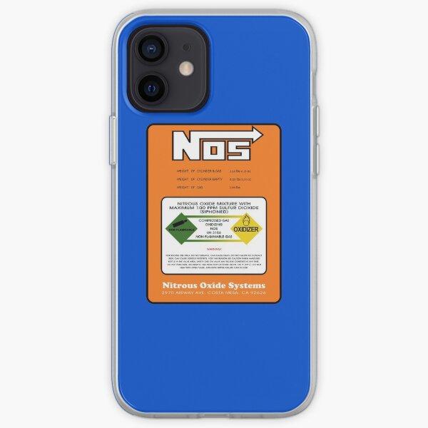 NOS Nitrous Bottle Label iPhone Soft Case