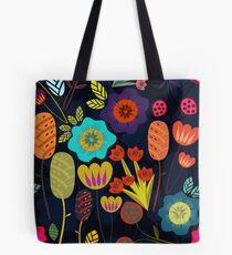 Magical night garden Tote Bag