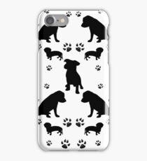 Black Dogs iPhone Case/Skin