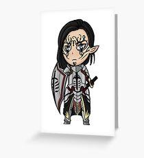 Templar Xander Greeting Card