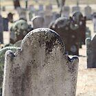 Cutchogue Cemetery by Gilda Axelrod