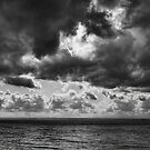 Clouds over Ontario lake by Andrea Rapisarda