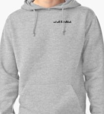 not with that attitude Pullover Hoodie