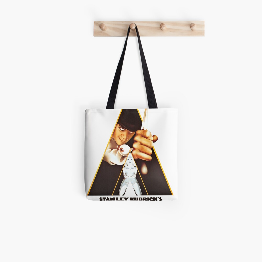 Vintage 1971 A Clockwork Orange, Posters, Movie, Retro Tote Bag
