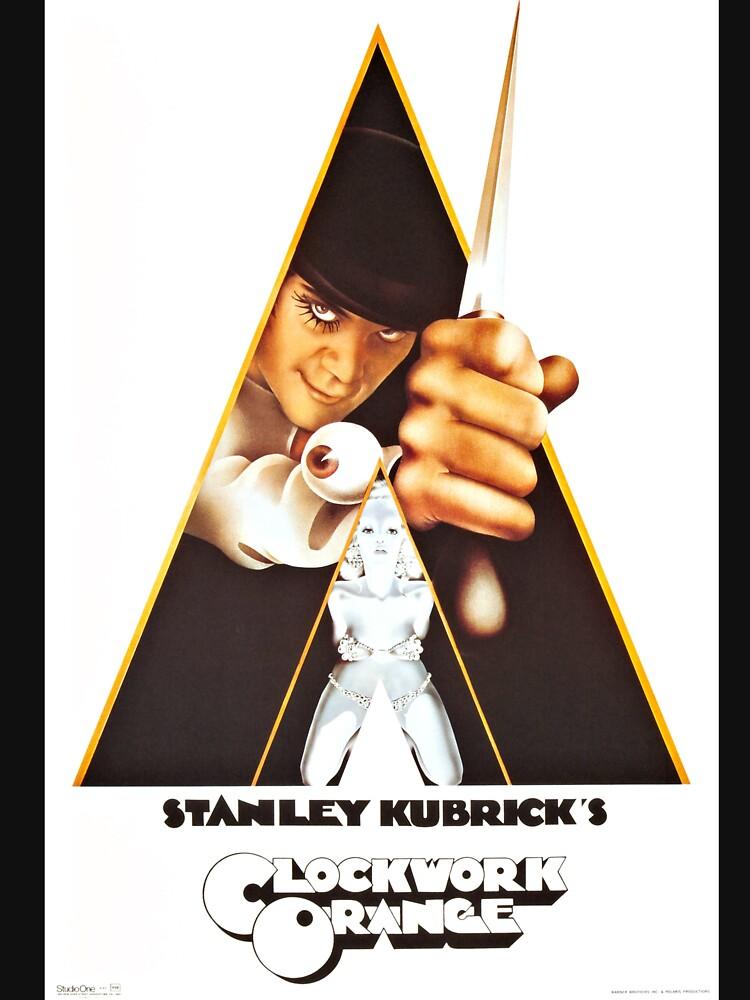 Vintage 1971 A Clockwork Orange, Posters, Movie, Retro by clothorama