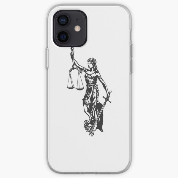 Lady Justice iPhone Soft Case