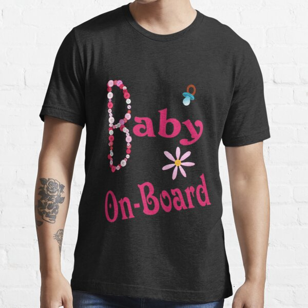 Girl Baby On-Board Essential T-Shirt