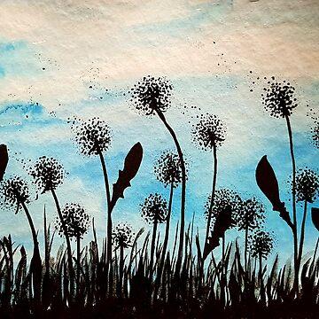 Blue dandies by Mazy