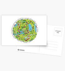 My Happy Planet Postcards