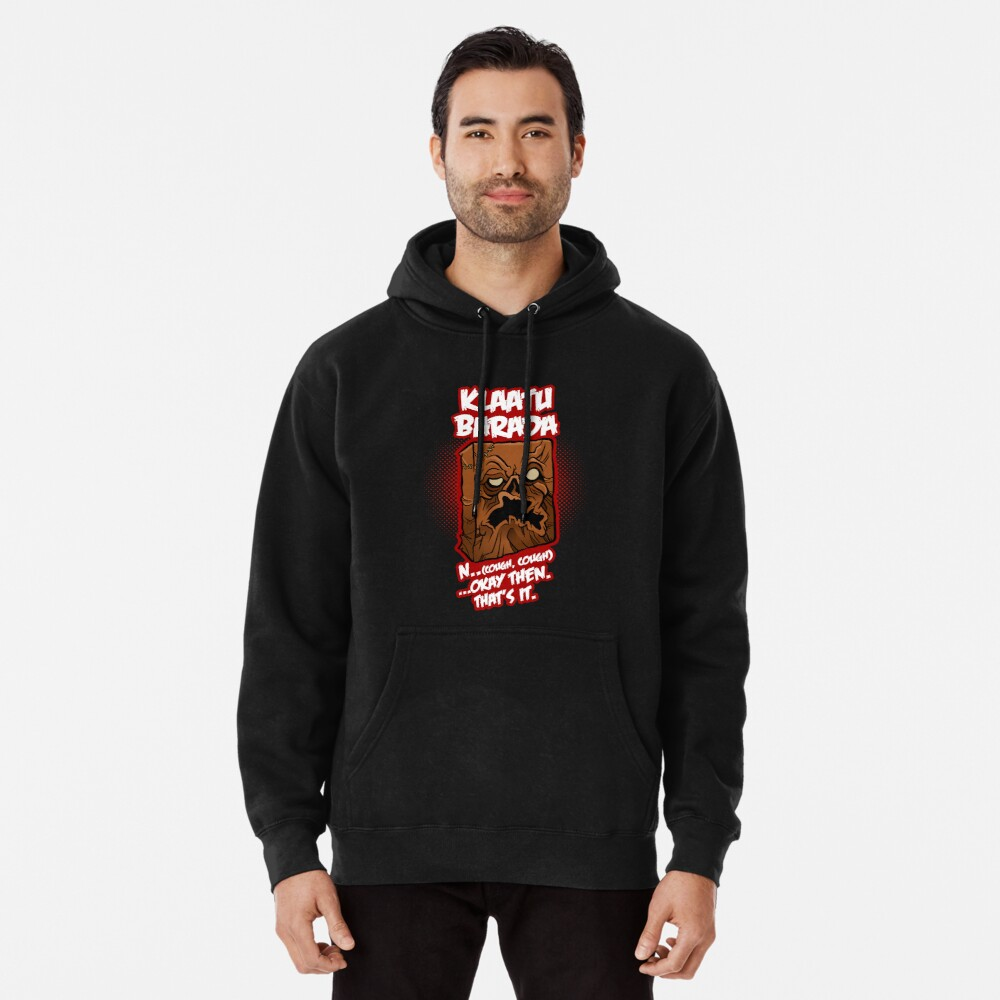Every Single Little Tiny Syllable Pullover Hoodie Front