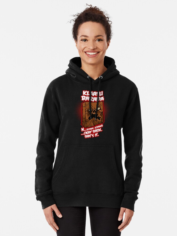 Alternate view of Every Single Little Tiny Syllable Pullover Hoodie