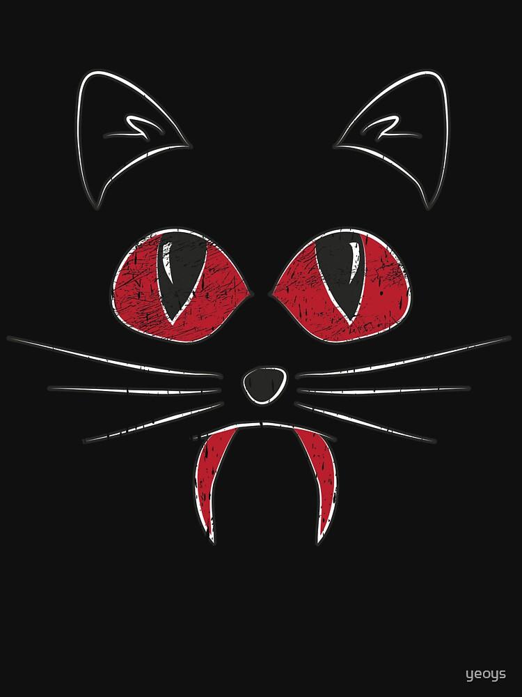 Vampirecat Bloody Halloween Costume - Scary Halloween Gift von yeoys