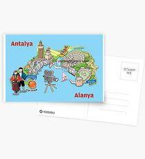 Antalya, oranges and films Postcards