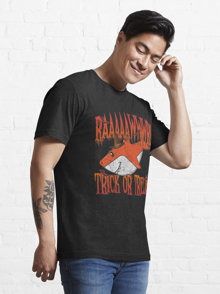 Alternative Ansicht von Rawr Trick Or Treat Shark Halloween Costume - Cute Halloween Gift Essential T-Shirt