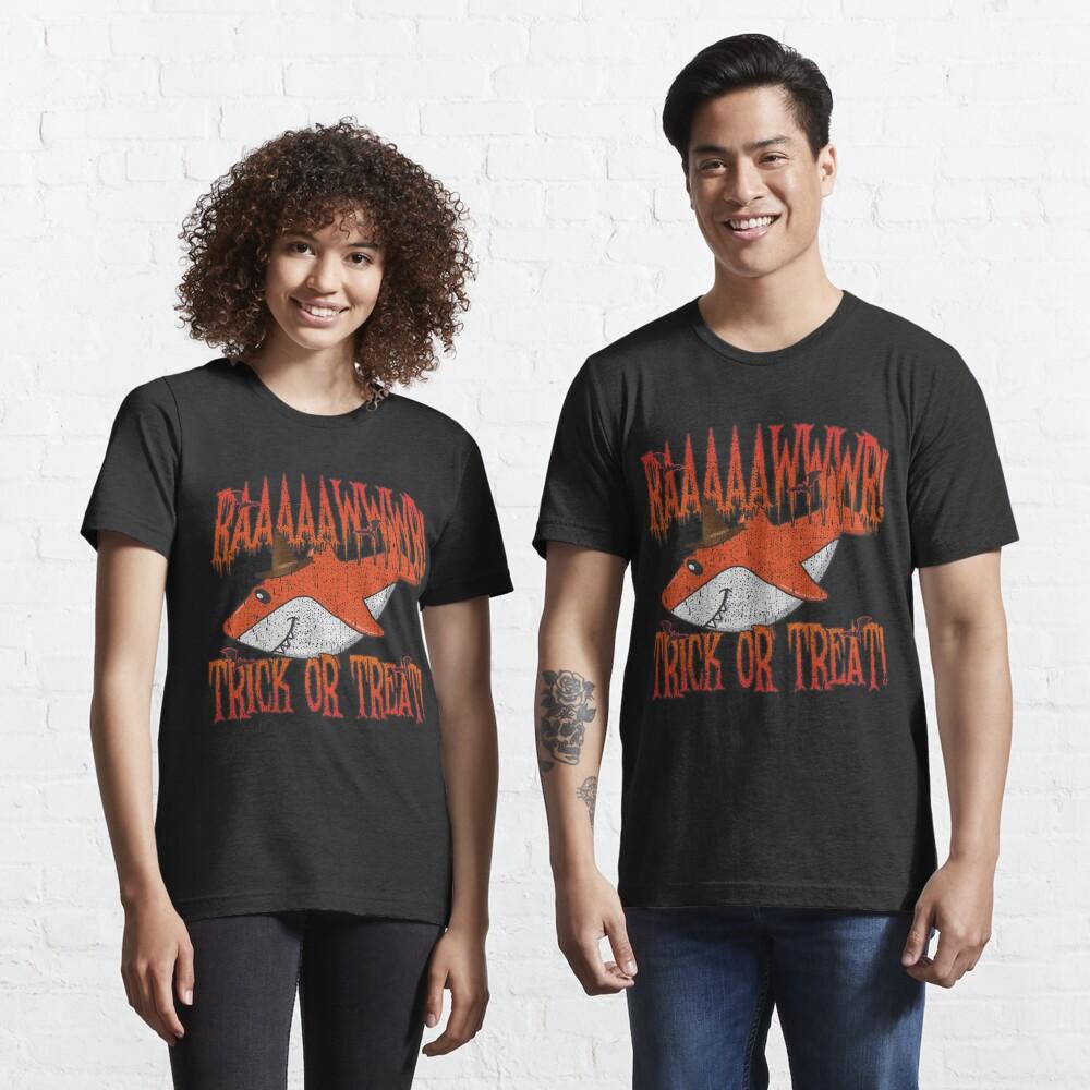 Rawr Trick Or Treat Shark Halloween Costume - Cute Halloween Gift Essential T-Shirt