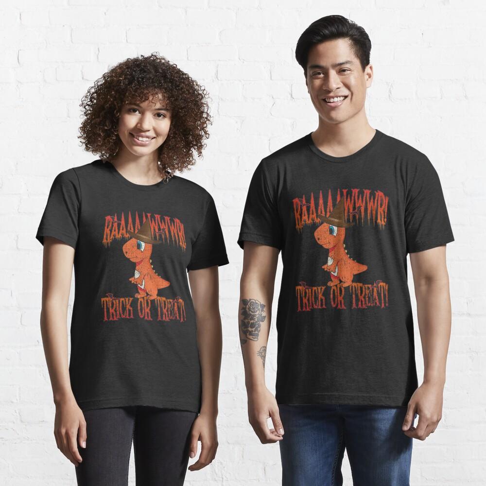 Rawr Trick Or Treat Dinosaur Halloween Costume - Cute Halloween Gift Essential T-Shirt