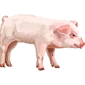 Pig by MichaelRellov