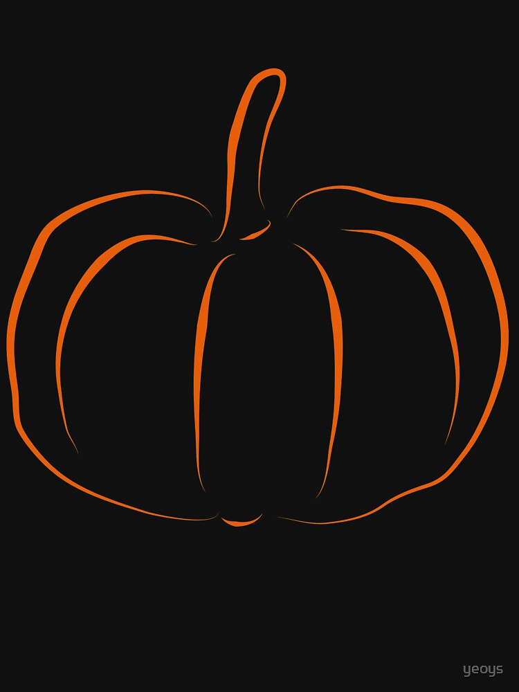 Jack-O-Lantern Pumpkin Silhouette - Funny Halloween Gift von yeoys