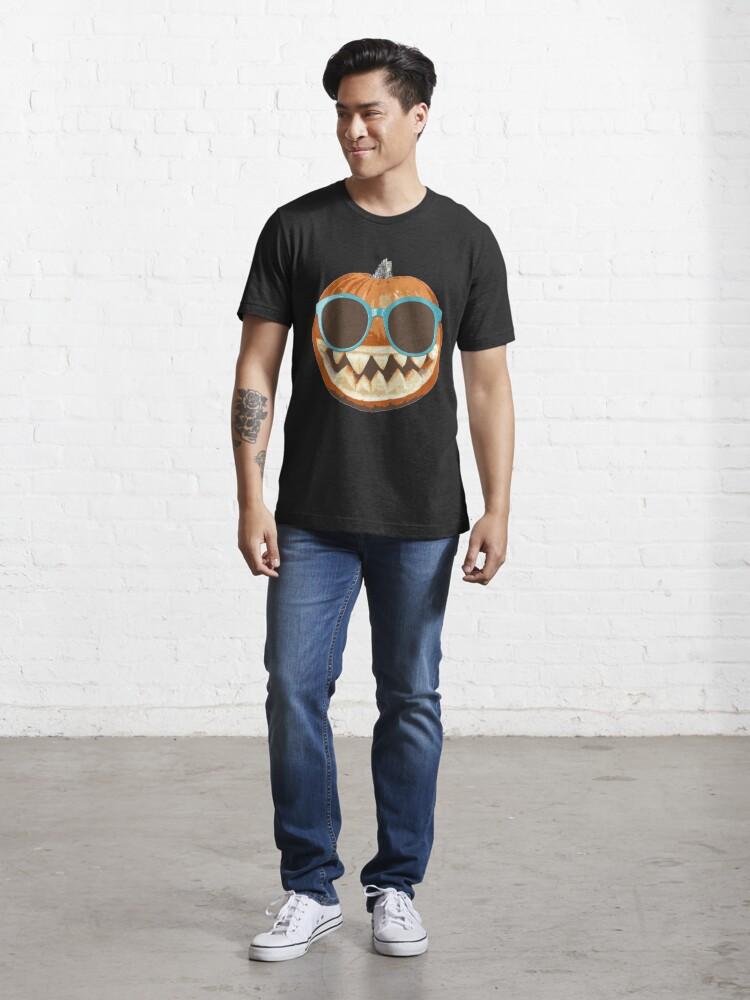 Alternative Ansicht von Pumpkin Jack-O-Lantern Sunglasses - Funny Halloween Gift Essential T-Shirt