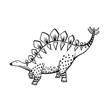 Stegosaurus Steggy by yukesmooks
