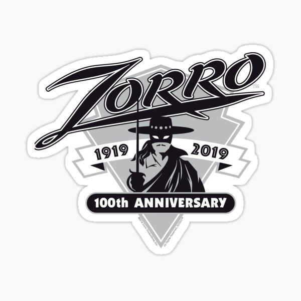 Zorro™ - 100th Anniversary Sticker