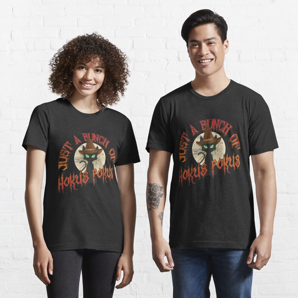 Just A Bunch Of Hokus Pokus Halloween Cat - Funny Halloween Gift Essential T-Shirt