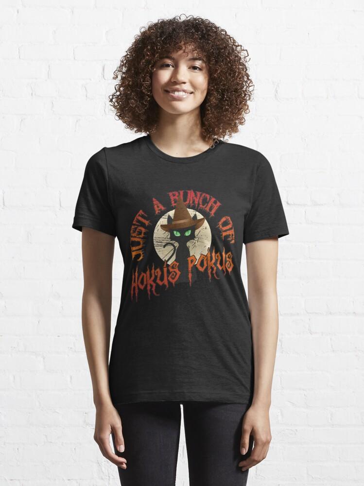 Alternative Ansicht von Just A Bunch Of Hokus Pokus Halloween Cat - Funny Halloween Gift Essential T-Shirt