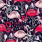 Fantasy Flamingos  by TigaTiga