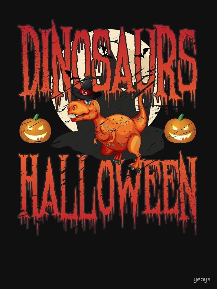Halloween Dinosaur Costume T-Rex - Scary Halloween Gift von yeoys