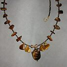 Tiger's Eye Turtle Necklace by annimoonsong