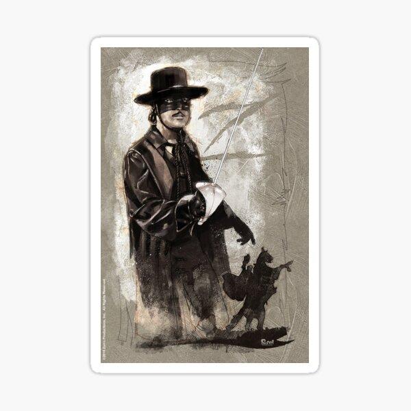 Zorro™ - Swords of Hell No. 001 Sticker