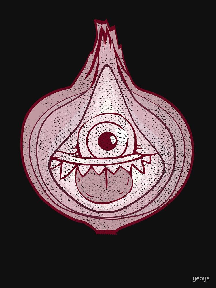 Onion Monster Halloween Costume - Scary Halloween Gift von yeoys