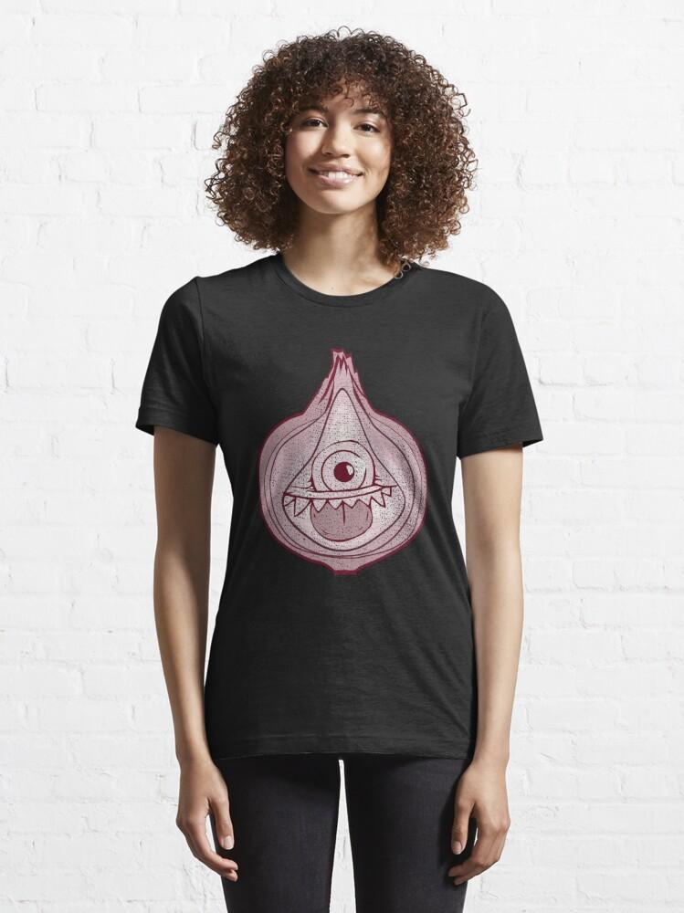 Alternative Ansicht von Onion Monster Halloween Costume - Scary Halloween Gift Essential T-Shirt