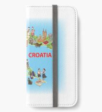 Croatia my love! iPhone Wallet/Case/Skin