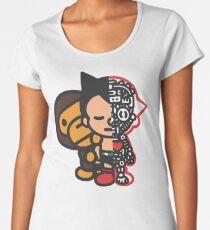 Camiseta premium para mujer astro boy x bape